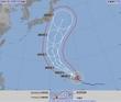 台風21号進路予想、関東接近か