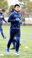 サッカーの安川誠人選手