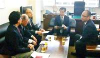 立地との信頼構築全原商が国に要望 エネ庁長官と面談
