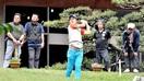 ゴルフ プロアマ戦93人交流 あわらで県内初 学…
