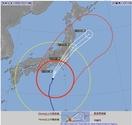 台風19号福井接近、風や降水量は