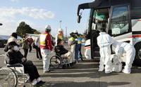 島根原発初の県外避難訓練を実施