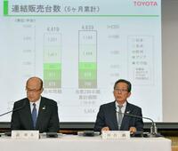 「大型サイド」トヨタ中間決算過去最高 「売れ筋車」見極め成功