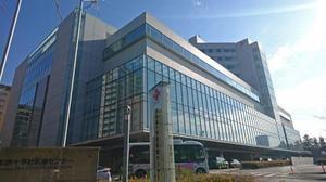 医師の残業時間を月200時間まで容認する労使協定を結んでいることが判明した日赤医療センター=2017年12月、東京都渋谷区