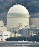 関西電力高浜原発の4号機=福井県高浜町