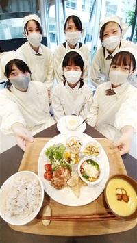 高校生の特製薬膳 いかが 来月、若狭東で提供 「減塩」「特産」2種考案