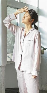 エコ繊維で快適パジャマ 明林繊維(福井)初の商品化 蒸れ抑え寝心地追求