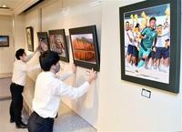 躍動、熱気伝わる46点 鯖江支社で写真グランプリ展 福井新聞コミュニティーホール