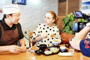 福井取材2年「ソースカツ丼最高」
