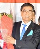 勝山市長選、山岸正裕氏が5選