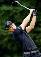 ゴルフ、石川遼が67で首位発進