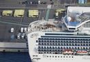 乗客の下船始まる、初日は500人