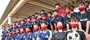 オリジナルの 織りマスクを 松川レピヤン坂井新…