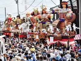 北陸三大祭りの一つ「三国祭」。プロジェクトのリターンには三国祭を一等席で堪能できるリターンもある
