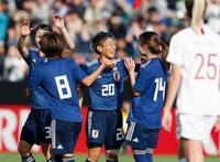 サッカー女子、日本代表が快勝