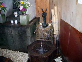 「ふくいのおいしい水」 住民におしょうずさんと親しまれる水