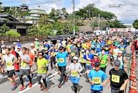 古城マラソン、3438人が快走