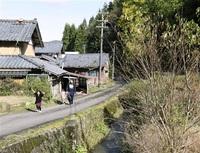 中山間地集落に危機 「支援員」配置進まず 福井市政の課題_市長選2019 人口減(上)