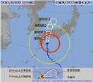 台風10号、福井15日夜最接近