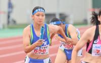 陸上女子1600mリレーの敦賀高校、決勝レース10位 北信越インターハイ2021 #きみあせ
