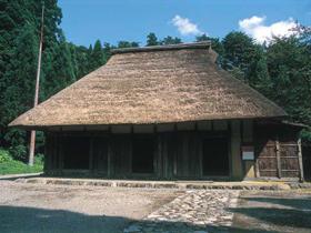 江戸時代中期の山村の生活を伝える古民家
