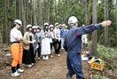 県産材の活用、福井大生学ぶ
