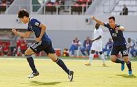 サッカー日本、サウジ下し8強