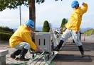 地震で水道寸断、復旧へ訓練