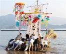 祖先の霊厳かに海へ 美浜・菅浜で「精霊船送り」…