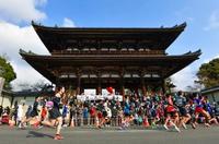 京都マラソンに1万6千人