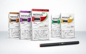 日本たばこ産業が全国発売した加熱式たばこ「プルーム・テック」