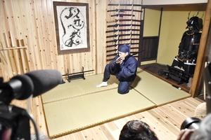 熊川宿に忍者道場がオープン