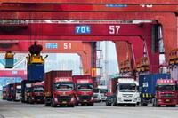 中国の6月輸出、プラス転換