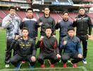 広島、新入団8選手が球場見学