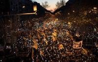 カタルーニャで20万人デモ