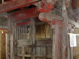 福井城東照宮の唐門を移築