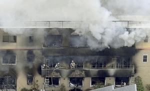 「京アニ」火災、33人の死亡確認