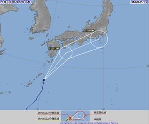 令和初の台風、福井に最接近いつ