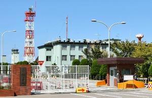 航空自衛隊小松基地=21日午後、石川県小松市