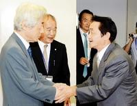 小泉元首相に地村保志さんがお礼