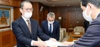 新幹線向け協働推進 小浜市第6次総合計画案 審議会、市長に答申