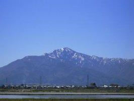 日本百名山「荒島岳」