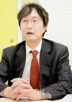 福井弁護士会会長の海道宏実さん