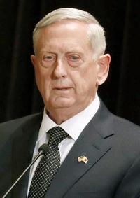 米国防長官が戦争計画に言及