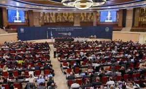 アフリカ・ルワンダで開かれたモントリオール議定書の改正会議=2016年10月14日(AP=共同)