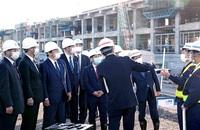 国交相、24年春「必ず」 県内開業 福井、敦賀駅初の視察 つながる北陸新幹線