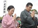 鈴木亮平、西郷隆盛の命日にお墓参り「気持ちを新た…