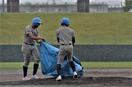 坂井―敦賀気比、雨でノーゲームに
