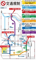 第39回福井マラソンによる交通規制