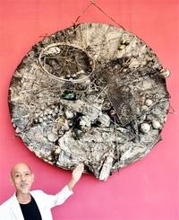 奇才の代表作感じて 故小野忠弘さん「アンチプロトン」 坂井・みくに市民センター 収集家が寄託